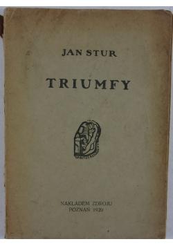 Triumfy , 1920r.