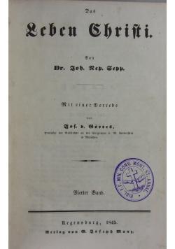 Das Leben Christi 1845 r