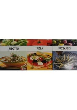 Nowa kuchnia włoska, 3 książki