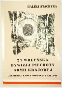 27 Wołyńska Dywizja Piechoty Armii Krajowej