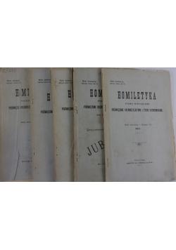 Homiletyka, 5 numerów , 1899 r.