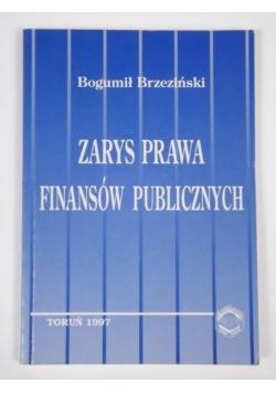 Zarys prawa finansów publicznych