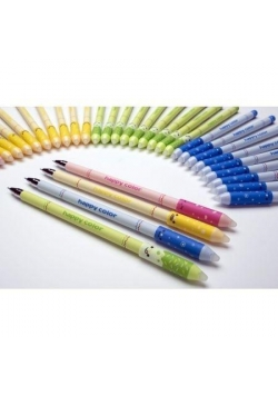 Długopis usuwalny niebieski 4 szt HAPPY COLOR