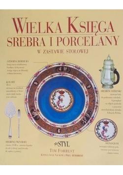Wielka Księga srebra i porcelany w zastawie stołowej