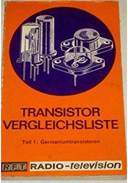 Transistor Vergleichsliste