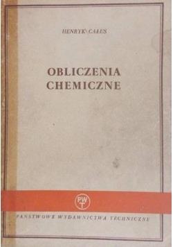 Całus Henryk - Obliczenia chemiczne