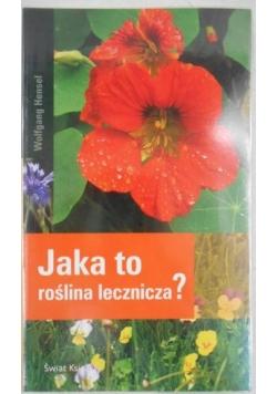 Jaka to roślina lecznicza?