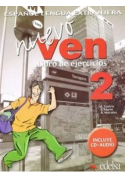 Nuevo Ven 2 ćwiczenia + CD EDELSA
