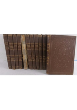 Dzieje powszechne ilustrowane, zestaw 13 książek, ok  1894 r.