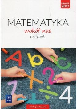 Matematyka wokół nas 4 Podręcznik