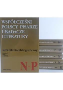 Współcześni Polscy pisarze i badacze literatury Tom I - VI