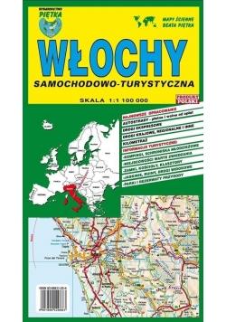 Włochy 1:1 100 000 mapa samochodowa PIĘTKA