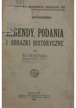 Legendy, podania i obrazki historyczne, 1911 r.