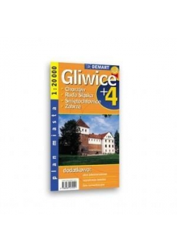 Plan Miasta Gliwice + 4 Miasta 1:20 000 DEMART