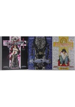 Death Note, 3 komiksy
