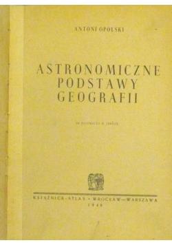 Astronomiczne podstawy geografii, 1948 r.