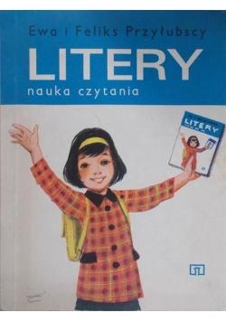 Litery. Nauka czytania