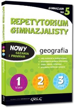 Repetytorium Gimnazjalisty geografia GREG