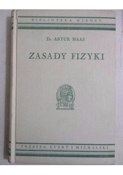 Zasady fizyki, 1935 r.