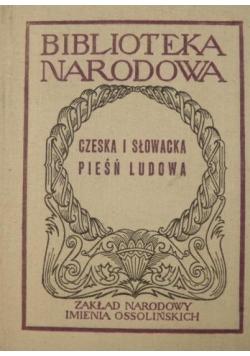 Czeska i słowacka pieśń ludowa, BN