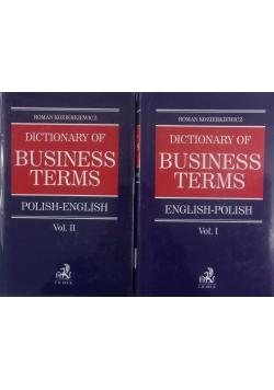 Dictionary of busines terms tom I-II