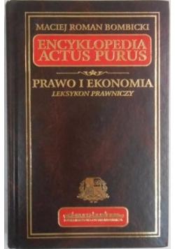 Encyklopedia Actus Purus. Prawo i ekonomia