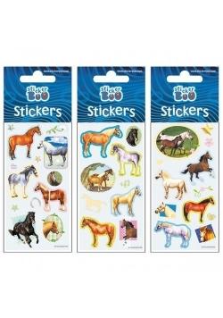 Naklejki Sticker BOO silver konie