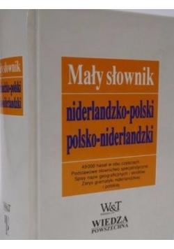 Mały słownik niderlandzko - polski, polsko - niderlandzki