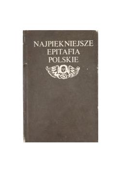 Najpiękniejsze epitafia polskie, Miniatura