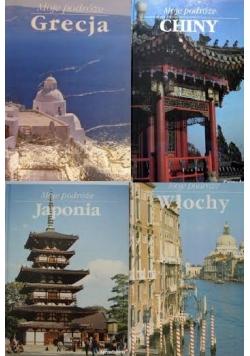 Moje podróże - zestaw 4 książek