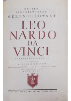 Leonardo Da Vinci, 1928r.