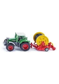 Siku 16 - Traktor z deszczownią szpulową S1677