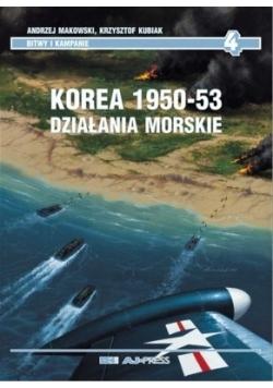 Korea 1950-53 , działania morskie