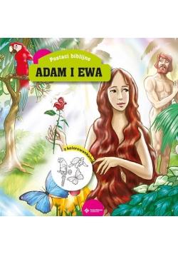 Adam i Ewa. Z kolorowankami