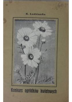 Konkurs ogródków kwiatowych, 1930r.