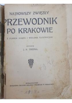 Najnowszy zwięzły Przewodnik po Krakowie, 1923r.