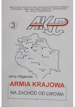 Armia krajowa na zachód od Lwowa