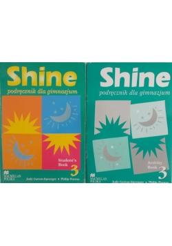 Shine. Podręcznik dla gimnazjum - zestaw 2 książek