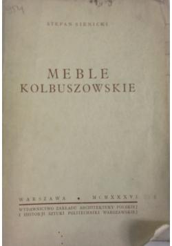 Meble kolbuszowskie,1936r.