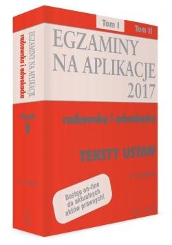 Teksty ustaw. Egzaminy T.1 wyd.15
