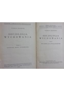 Socjologia wychowania, tom I-II, ok. 1930r.
