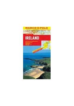 Irealand, mapa