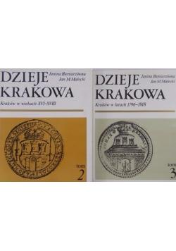 Dzieje Krakowa Tom  II-III