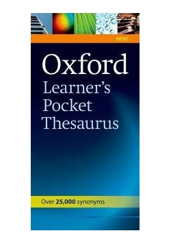Oxford Learner's Pocket Thesaurus OXFORD