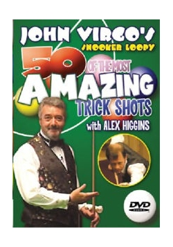 50 of the most amazing trick shots with Alex Higgins, DVD