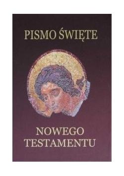 Pismo Święte Nowego Testamentu - bordo