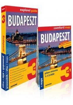 Explore!guide Budapeszt 3w1 Przewodnik Wyd.III
