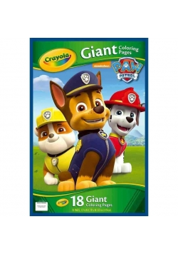 Gigantyczna kolorowanka Psi Patrol CRAYOLA