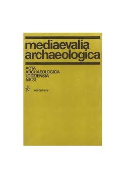 Mediaevalia archaeologica