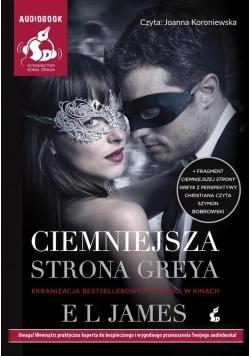 Ciemniejsza strona Greya okł. filmowa (Audiobook)